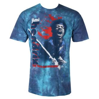 tričko pánské Jimi Hendrix - FIRE - LIQUID BLUE