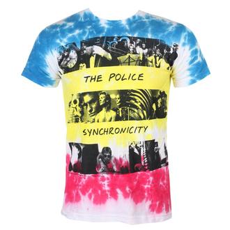 tričko pánské The Police - SYNCHRONICITY - LIQUID BLUE, LIQUID BLUE, Police
