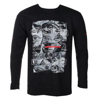tričko pánské s dlouhým rukávem System Of A Down - Eye Collage - ROCK OFF, ROCK OFF, System of a Down