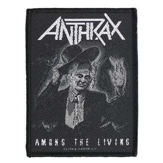 nášivka Anthrax - Among The Living - RAZAMATAZ, RAZAMATAZ, Anthrax
