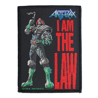 nášivka Anthrax - I Am The Law - RAZAMATAZ, RAZAMATAZ, Anthrax