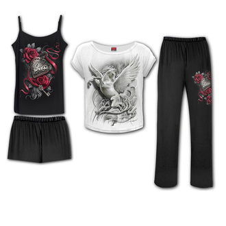 pyžamo dámské (set) SPIRAL - PURITY - Gothic Pyjama Set, SPIRAL