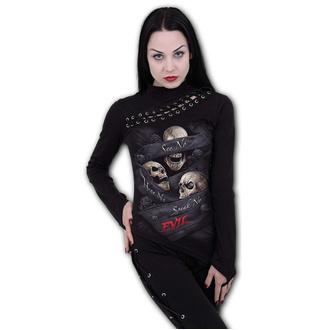 tričko dámské s dlouhým rukávem SPIRAL - SEE NO EVIL, SPIRAL