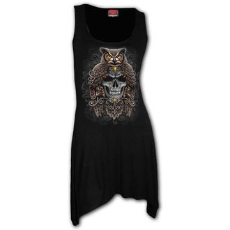 šaty dámské SPIRAL - DEATH WISDOM - Black, SPIRAL