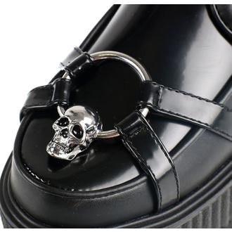 boty dámské KILLSTAR - Skeleton - BLACK - KSRA002051