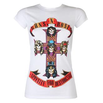 tričko dámské Guns N' Roses - Appetite For Destruction - ROCK OFF, ROCK OFF, Guns N' Roses