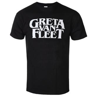 tričko pánské Greta Van Fleet - Logo - ROCK OFF, ROCK OFF, Greta Van Fleet