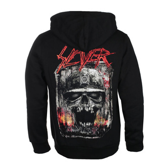 mikina pánská Slayer - Etched Skull - ROCK OFF, ROCK OFF, Slayer