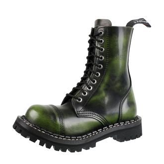 boty STEADY´S - 10 dírkové - Khaki black, STEADY´S
