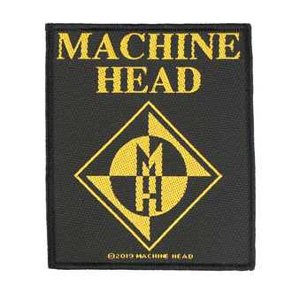 nášivka Machine Head - Diamond Logo - RAZAMATAZ, RAZAMATAZ, Machine Head