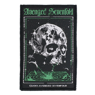 nášivka Avenged Sevenfold - Vortex Skull - RAZAMATAZ, RAZAMATAZ, Avenged Sevenfold