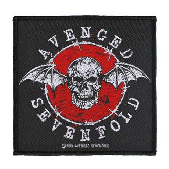 nášivka Avenged Sevenfold - Distressed Skull - RAZAMATAZ, RAZAMATAZ, Avenged Sevenfold