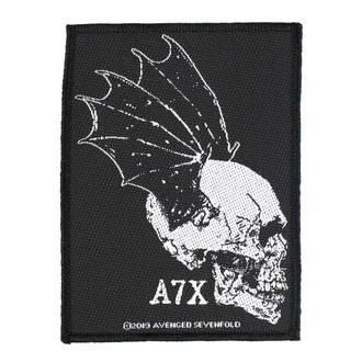 nášivka Avenged Sevenfold - Skull Profile - RAZAMATAZ, RAZAMATAZ, Avenged Sevenfold