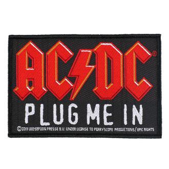 nášivka AC/DC - Plug Me In - RAZAMATAZ, RAZAMATAZ, AC-DC