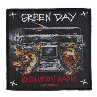 nášivka Green Day - Revolution Radio - RAZAMATAZ, RAZAMATAZ, Green Day