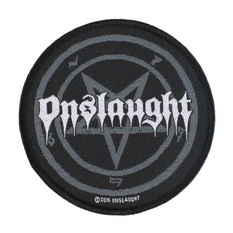nášivka Onslaught - Pentagram - RAZAMATAZ, RAZAMATAZ, Onslaught