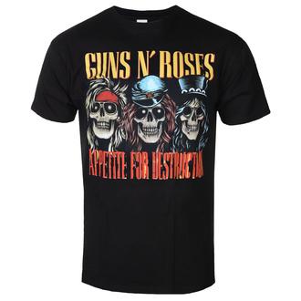 tričko pánské Guns N' Roses - AFD SKULLS BLK - BRAVADO - 12160410
