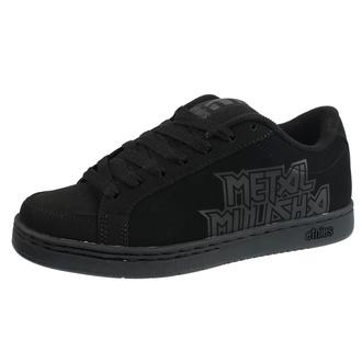 boty pánské METAL MULISHA - ETNIES - Kingpin 2 - 004 BLACK/BLACK/BLACK