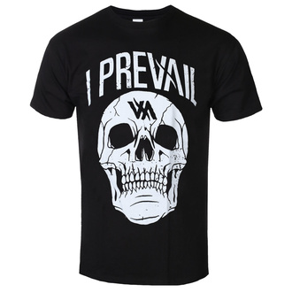 tričko pánské I Prevail - Large Skull - Black - KINGS ROAD, KINGS ROAD, I Prevail