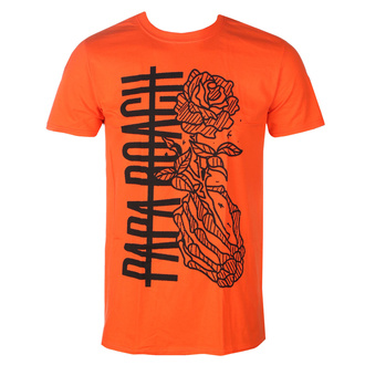 tričko pánské Papa Roach - Thorns Roses - Orange - KINGSROAD - 20130593