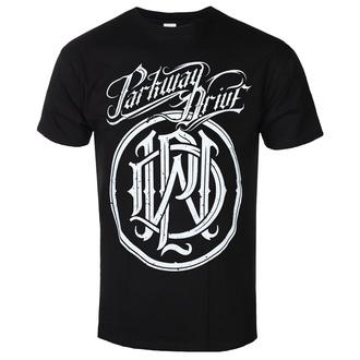 tričko pánské Parkway Drive - Logo Crest - Black - KINGS ROAD - 20150578