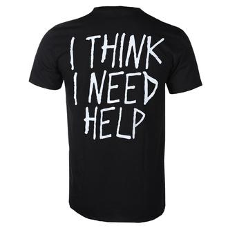 tričko pánské Papa Roach - Portrait - I Think I Need Help - Black - KINGS ROAD, KINGS ROAD, Papa Roach