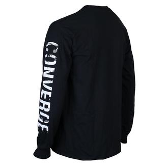 tričko pánské s dlouhým rukávem Converge - The Chamber Black - Black - KINGS ROAD, KINGS ROAD, Converge