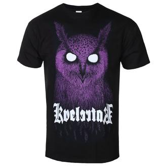 tričko pánské Kvelertak - Barlett Owl Purple - Black - KINGS ROAD, KINGS ROAD, Kvelertak