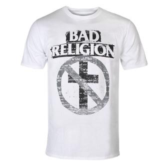 tričko pánské Bad Religion - Typewriter Crossbuster - White, KINGS ROAD, Bad Religion