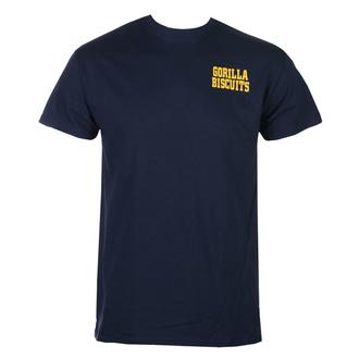 tričko pánské Gorilla Biscuits - Hold Your Ground Pocket - Navy - KINGS ROAD, KINGS ROAD, Gorila Biscuits