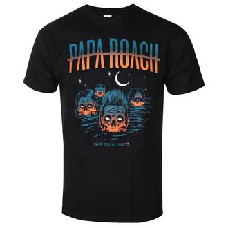 tričko pánské Papa Roach - Drowning WDYT - Black - KINGS ROAD, KINGS ROAD, Papa Roach