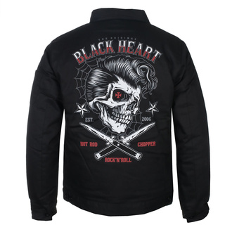 bunda pánská BLACK HEART - DENY BOY - BLACK, BLACK HEART