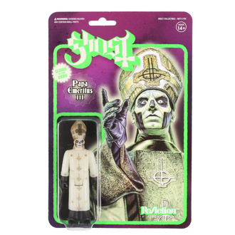 figurka Ghost - Papa Emeritus III Glow in the Dark, NNM, Ghost