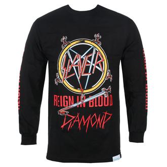 tričko pánské s dlouhým rukávem SLAYER - DIAMOND - Reign In Blood - Black, DIAMOND, Slayer