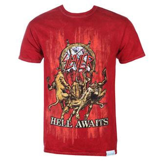 tričko pánské SLAYER - DIAMOND - Hell Awaits - Red, DIAMOND, Slayer
