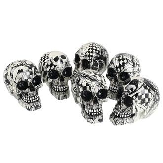 dekorace (set 6ks) Skull - Abstraction, NNM