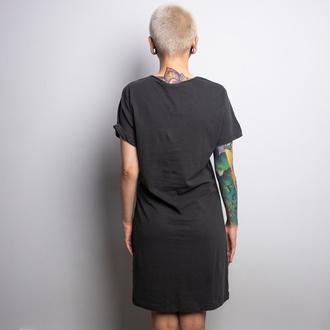 šaty dámské NIRVANA - SMILEY - CHARCOAL - AMPLIFIED, AMPLIFIED, Nirvana