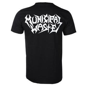 tričko pánské Municipal Waste - Logo - ART WORX, ART WORX, Municipal Waste
