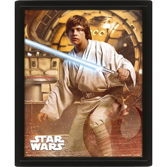 obraz 3D STAR WARS - VADER VS SKYWALKER - PYRAMID POSTERS - EPPL71309