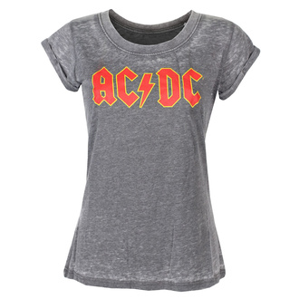 tričko dámské AC/DC - Logo - ROCK OFF, ROCK OFF, AC-DC