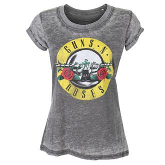 tričko dámské Guns N' Roses - Classic Logo - ROCK OFF - GNRBOTS22LC