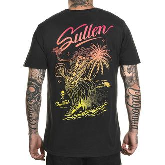 tričko pánské SULLEN - DEAD TIRED - VINTAGE BLACK - SCM3067_VBK