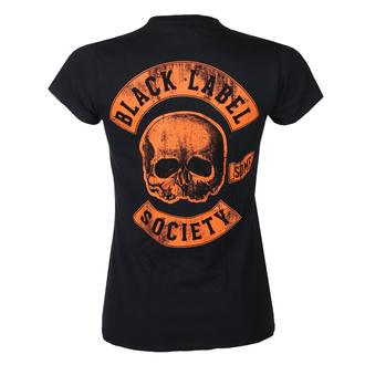 tričko dámské BLACK LABEL SOCIETY - HARDCORE HELLRIDE - PLASTC HEAD, PLASTIC HEAD, Black Label Society