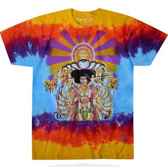 tričko pánské Jimi Hendrix - BOLD AS LOVE - LIQUID BLUE, LIQUID BLUE, Jimi Hendrix
