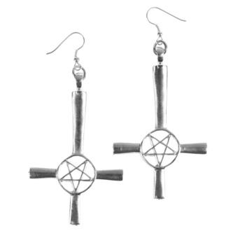 náušnice Cross/Pentagram - PSY811