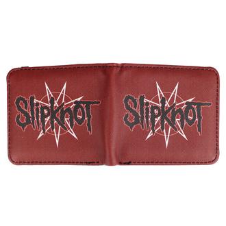 pěněženka SLIPKNOT - WANYK STAR RED, NNM, Slipknot
