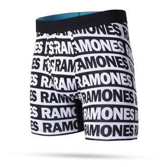 boxerky pánské THE RAMONES - WHOLESTER BLACK - STANCE, STANCE, Ramones