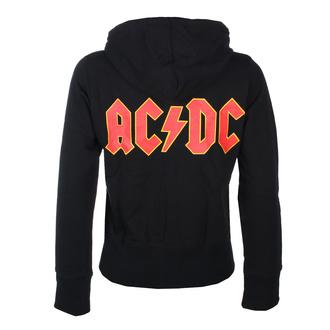 mikina dámská AC/DC - Logo- ROCK OFF, ROCK OFF, AC-DC