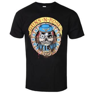 tričko pánské Guns N' Roses - Skull Circle - ROCK OFF, ROCK OFF, Guns N' Roses
