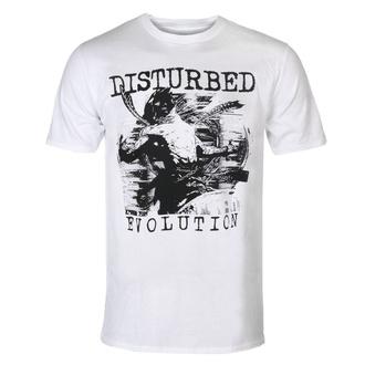 tričko pánské Disturbed - Sketch - WHT - ROCK OFF, ROCK OFF, Disturbed